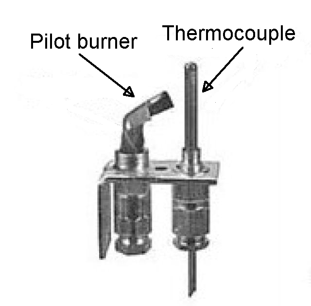 thermocouple burner